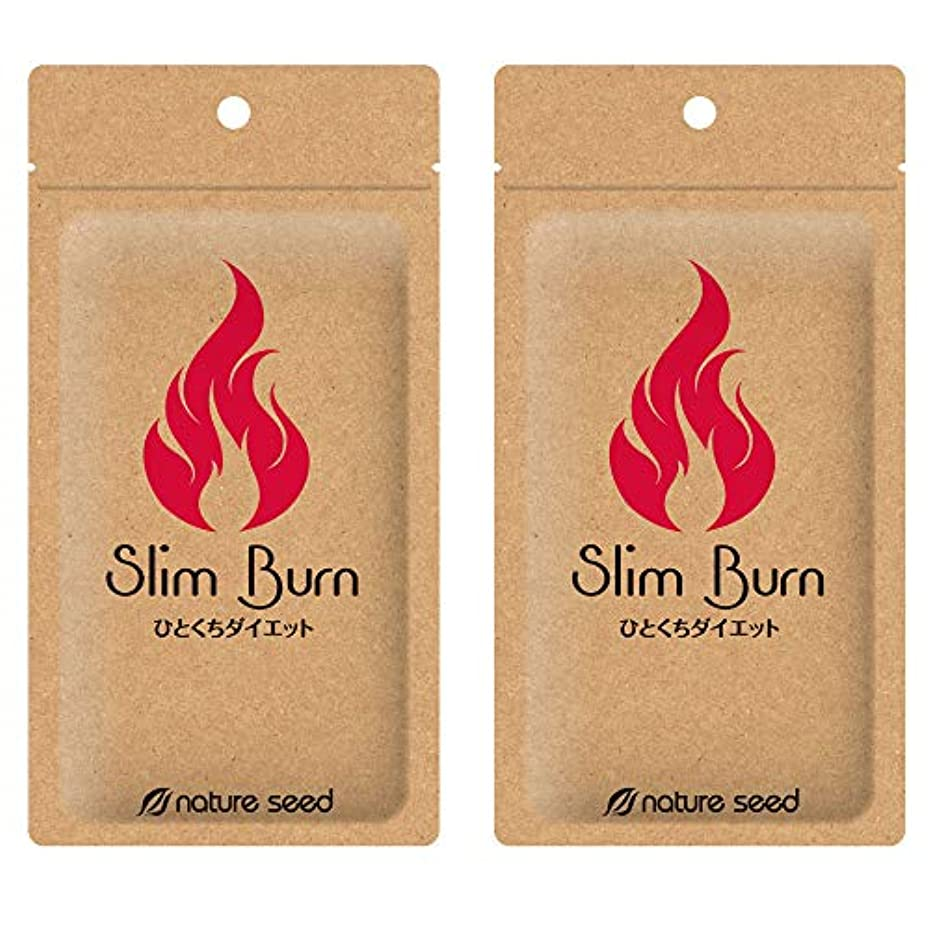 あなたは発動機エステート[燃焼サプリ]ダイエット 脂肪燃焼 くびれメイクをサポート サプリメント スリムバーン 2袋(約60日分)