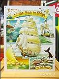 アメリカンブリキ看板 レトロ帆舟 To The Sea (商品内訳:1点)
