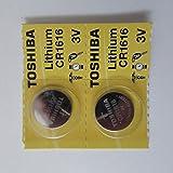 2- Packコインリチウムバッテリーforホンダアコード200320042005200620072008200920102011030405060708091011キーFobスマートキーリモート送信機バッテリー