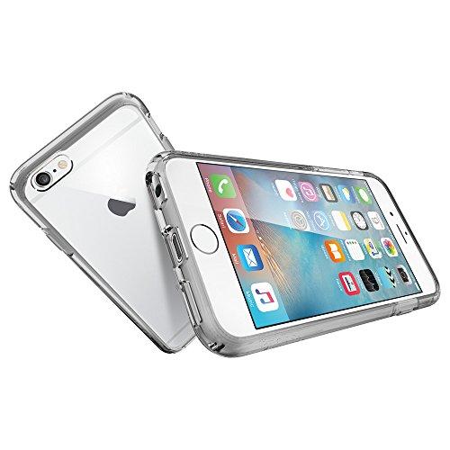 『【Spigen】iPhone6S ケース / iPhone6 ケース ウルトラ・ハイブリッド 米軍MIL規格取得 (スペース・クリスタル SGP11599)』の9枚目の画像