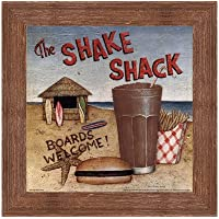 Shake Shack by David Carter Brown–10x 10インチ–アートプリントポスター LE_480531-F10570-10x10
