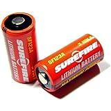 SUREFIRE(シュアファイア)純正3Vリチウム電池 SF123A 6個パック SF6-BC