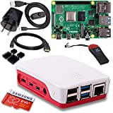 Raspberry Pi 4 Model B 4GB Complete Starter Pack - 32GB Noobs - Official Case Red