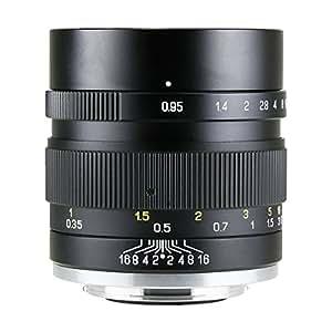中一光学(ZHONG YI OPITCS) 単焦点レンズ SPEEDMASTER 35mm F0.95 II (富士フイルムXマウント)(ブラック)
