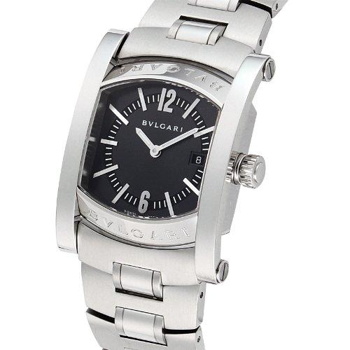[ブルガリ]BVLGARI 腕時計 アショーマ ブラック文字盤 ステンレスベルト 日常生活防水 AA39C14SSD レディース 【並行輸入品】