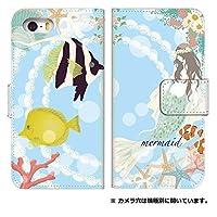 スマホケース 手帳型 インフォバー a03カバー 5027-D. 人魚姫 a03 カバー infobar [INFOBAR A03 KYV33] インフォバー エースリー
