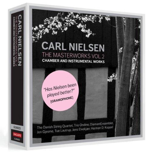 カール・ニールセン:マスターワーク集 第2集 室内楽曲&器楽曲集(6枚組)