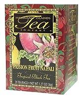 Hawaiian Islands Tea Company(ハワイ・アイランド・ティー・カンパニー) パッションフルーツ・ナ・パリ(紅茶) 20P(36g)
