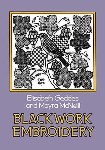 Blackwork Embroidery (Dover Embroidery, Needlepoint)