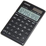 カシオ計算機 ノート デザイン電卓 手帳タイプ 10桁 プレミアムブラック SL-Z1000BK-N