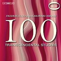 Sorabji: 100 Transcendental Studies 44-62 by Fredrik Ullen (2010-10-26)