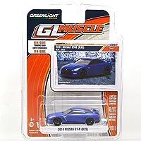 "GREENLIGHT 1:64SCALE ""GL MUSCLE"" ""2014 NISSAN GT-R (R35)""(BLUE) SERIES17 グリーンライト 1:64スケール 「GL マッスル」 「2014 日産 GT-R (R35)」(ブルー) シリーズ17 [並行輸入品]"