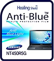 Healingshield スキンシール液晶保護フィルム Eye Protection Anti UV Blue Ray Film for Samsung Laptop Ativbook 4 NT450R5G