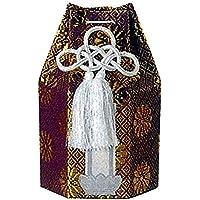 広金 分骨袋 / 紫 / 2寸、2.3用 / 骨覆 骨壷 カバー / 直葬 家族葬 分骨 手元供養 納骨 ペット
