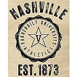 Fanatics Branded Vanderbilt Commodores Women's Old-School Seal Tri-Blend V-Neck T-Shirt - White スポーツ用品 【並行輸入品】