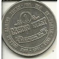 カジノWestトークンゲームコイン1ドルYerington Nevada Obsolete