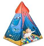 Ocean Dreamテント、HAOCOOベビーおもちゃPlay Tent House Princess Prince House Castleアウトドア、インドアに最適なギフトとして1–8Years Old KidsボーイズGirls幼児幼児。。。