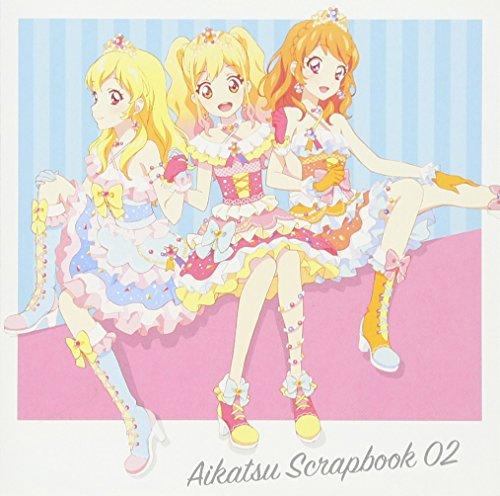 スマホアプリ『アイカツ!フォトonステージ!!』スプリットシングル AIKATSU SCRAPBOOK 02