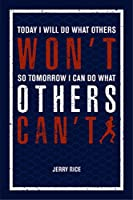 jsc451Today I Will Do What Othersない明日So I Can Do What Others Running単語はポスターでき図| 18-inches by 12-inches | Motivational Inspirational |プレミアム100lbグロスポスター用紙