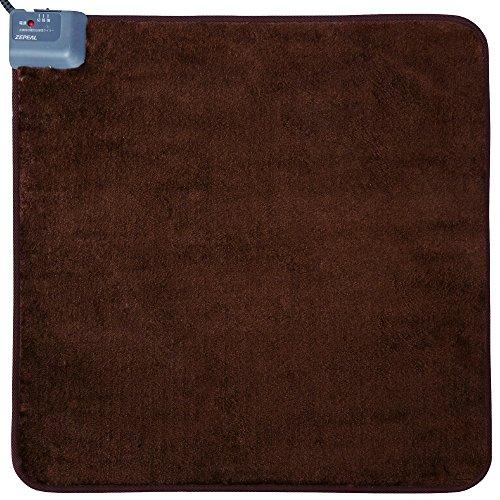 [해외]ZEPEAL 핫 매트 (자동 꺼짐 타이머) 60 × 60cm 브라운 DM-K6015/ZEPEAL hot mat (with automatic off timer) 60 × 60 cm Brown DM-K 6015