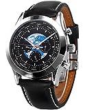 Ks トランスオーシャン ラグジュアリー 自動機械式 日付 曜日 24時間表示 メンズ 腕時計KS088