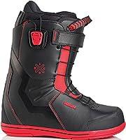フォローズ限定 18-19 NEWモデル DEELUXE IDxHC PF Hard Core ディーラックス アイディー ハードコア ノーマルインナー メンズ スノーボード ブーツ 正規品 (27.0cm, BLACK_Red)