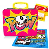 Peanuts Lunch Box Activity Set -- Deluxe Snoopy Tin Lunchbox with Puzzle and Over 100 Stickers (Snoopy School/Party Supplies)