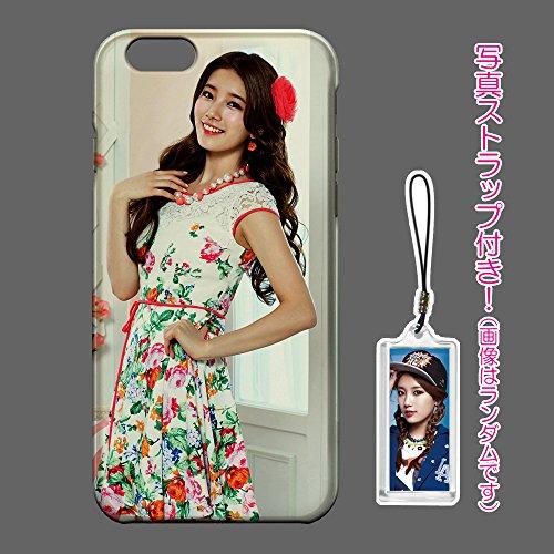 miss A スジ SUZY Apple iPhone6 Plus iPhone6Plus 専用 ハードケース 写真ストラップ付き