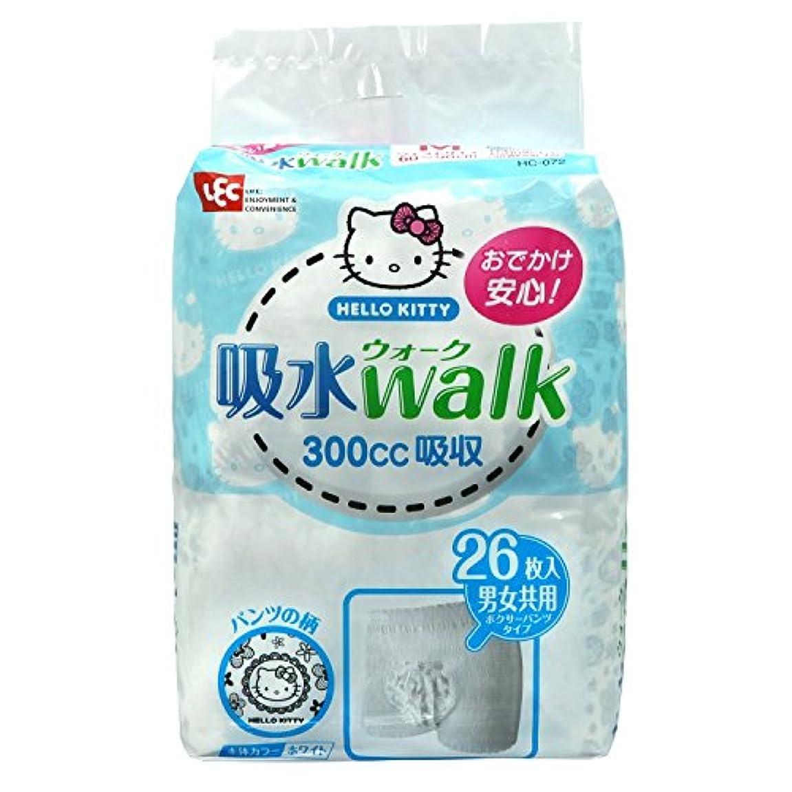 層ようこそ家族キティ 吸水ウォーク (大人用紙パンツ) 4個セット