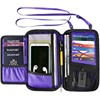 RFID Travel Wallet Passport Holder