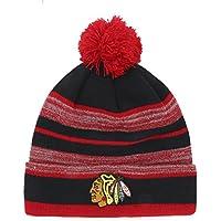 NHL huset OTS Cuff Knit Cap with Pom、1サイズ ブラック