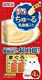 【セット販売】チャオ ちゅ?る 乳酸菌入り まぐろ (14g×4本)×6コ [ちゅーる]