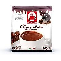 ドルチェグスト専用互換カプセル チョコレート CIOCCOLATO イタリアンチョコドリンク 製造国:イタリア Caffè Bonini社製造。赤ちゃんは甘いモノをなめると笑顔になるそうですが、それは大人も同じですね。世にチョコレートのドリンクは沢山ありますが、飲んだ瞬間笑顔になるのは、いい経験ですよ。この商品も入荷してすぐ無くなる時があります。すいません。