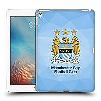 オフィシャルManchester City Man City FC スカイ・ジオメトリック フルカラー クレスト・ジオメトリック iPad Pro 9.7 (2016) 専用ハードバックケース