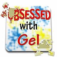 ブロンドDesigns Obsessed with–Obsessed withジェル–10x 10インチパズル( P。_ 241637_ 2)