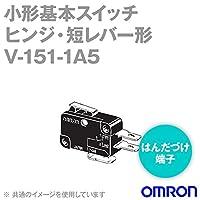 オムロン(OMRON) V-151-1A5 形V小形基本スイッチ (ヒンジ・短レバー形) NN