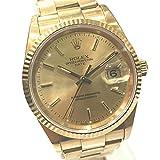(ロレックス)ROLEX 15238 オイスター パーペチュアル 金無垢 メンズ腕時計 腕時計 K18YG メンズ 中古