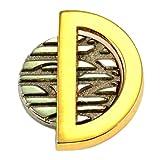 クリスチャン・ディオール 限定 レア ピンバッジ クリスチャンディオールD金色 ピンズ フランス