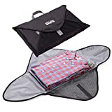ワイシャツケース シャツケース 出張 5枚 旅行 出張用 シャツ ケース 旅行便利グッズ SmartTravel (1. プレミアムブラック)