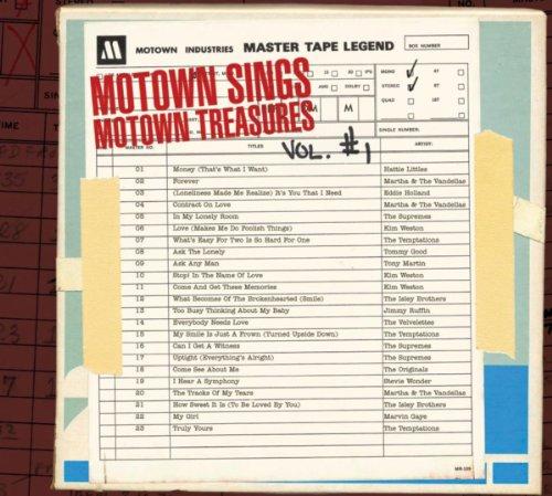 Motown Sings Motown Treasures