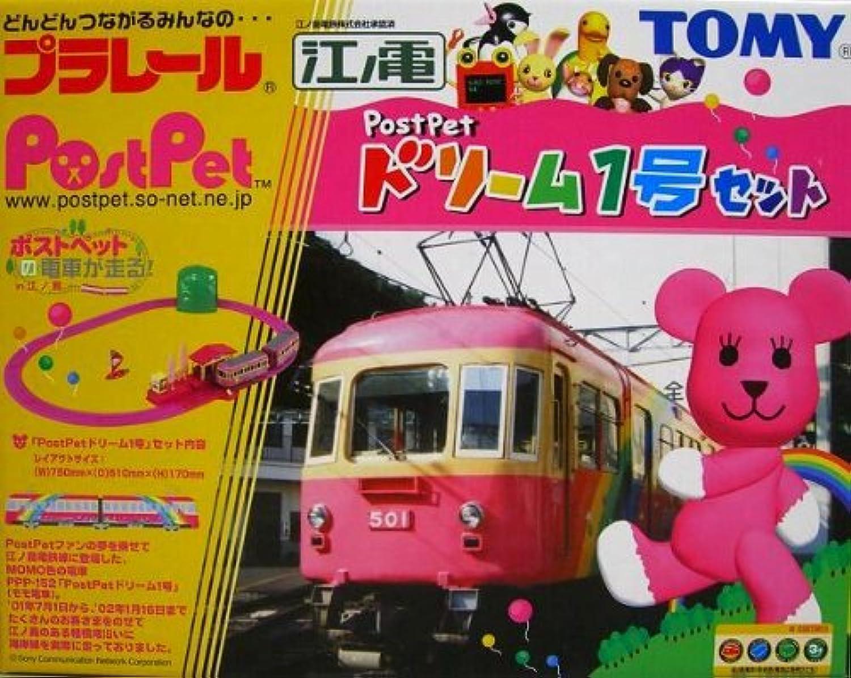 TOMY プラレール江ノ電 モモ電PostPetドリーム1号セット