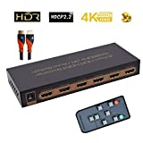 Best GENERIC HDMIケーブル - 5ポートHdr HDMI 2.0スイッチャ| 4K @ 60hz/UHD/DTS - HD/dolby-truehd/lpcm7.1/DTS/dolby-ac3 Review