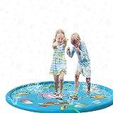 噴水マット プレイマット ウォーター プレイ アウトドア 芝生遊び 水 夏の日 子供用 おもちゃ 噴水マット ふんすい 庭 家庭用 キッズ 水遊び 噴水池 噴水できる 子供プレゼント