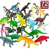 ValeforToy 72 Piece Mini Dinosaur Toy Set