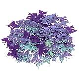 Blesiya 約100枚 紙吹雪 バタフライ 蝶 お祝い 写真小物 2色選べる - 紫
