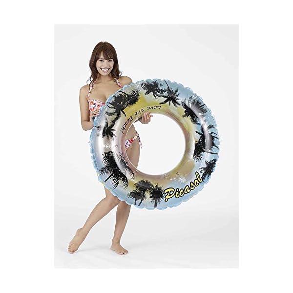 ドウシシャ 浮き輪 ヤシの木 110cmの紹介画像2