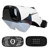 Best Docoolerカメラ - Docooler 3D ARヘッドセット ボックス メガネ 3Dホログラフィックホログラムディスプレイ ホログラフィックプロジェクター 4.2-5.7インチバーチャルハンドル付き Review