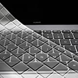 MaxKu HUAWEI Matebook X Pro キーボードカバー 13.9インチ キーボード USキーボード 英語配列 保護 カバー ケース 透明 キースキン サーフェス ラップトップ ノートパソコンに対応(クリア)