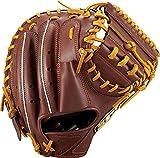 ゼット(ZETT) 少年野球 軟式 キャッチャーミット ゼロワンステージ 右投用 新軟式ボール対応 チョコブラウン×オークブラウン(3736A) BJCB71912