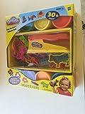 ゲーム/ Play play-doh : Fun Factoryデラックスセット、over 30ピース、6?play-doh缶、含まfor Ages 3?and Up Toy / Child / Kid